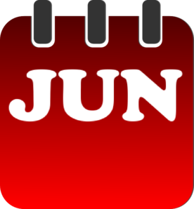 Monthly calendar clipart june png stock Monthly calendar clipart june - ClipartFest png stock