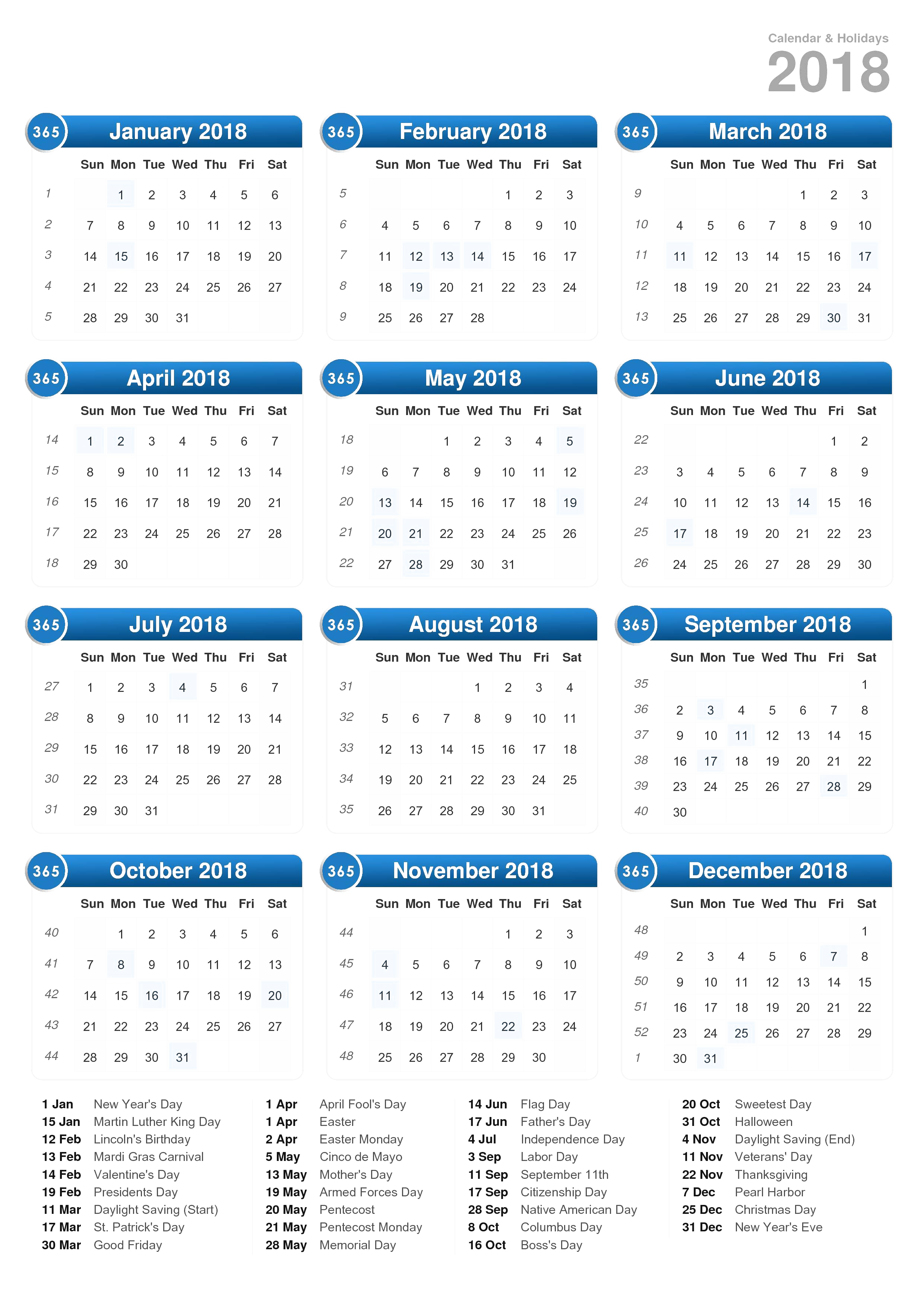 Monthly calendar clipart may picture black and white 2018 Calendar PNG Transparent Images | PNG All picture black and white