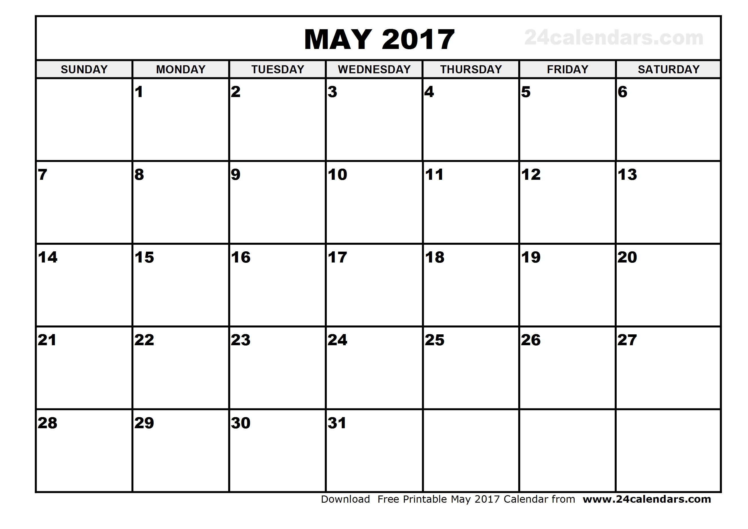 Monthly calendar clipart may clip art freeuse stock May 2017 Calendar Clipart clip art freeuse stock
