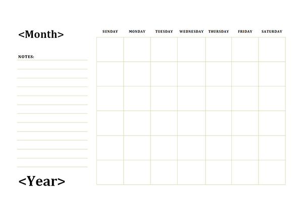 Monthly calendar clipart template clip art download Blank Monthly Calendar Template. 2017 calendar templates download ... clip art download