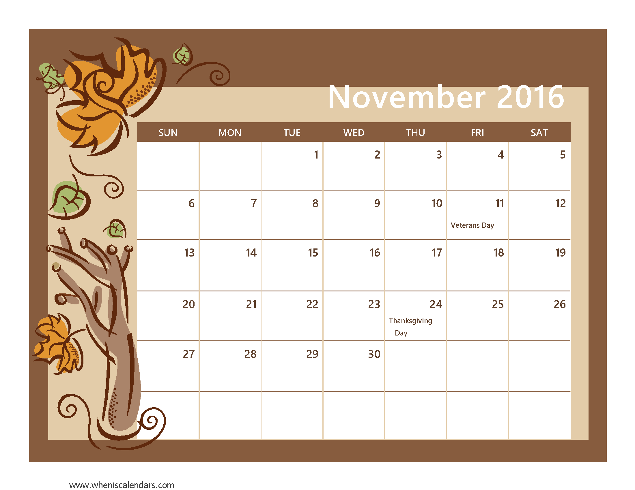 Monthly calendar november 2016 clipart clip art royalty free library Month Template. 21 monthly sales report templates free sample ... clip art royalty free library