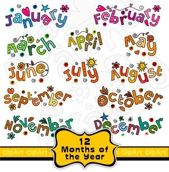 Months clipart banner free download Calendar months clipart 8 » Clipart Portal banner free download