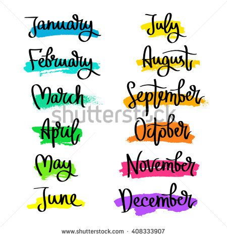 Months clipart banner black and white Month Of March Clipart | Free download best Month Of March ... banner black and white