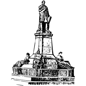 Monument clipart png royalty free stock Stephenson monument clipart, cliparts of Stephenson monument free ... png royalty free stock