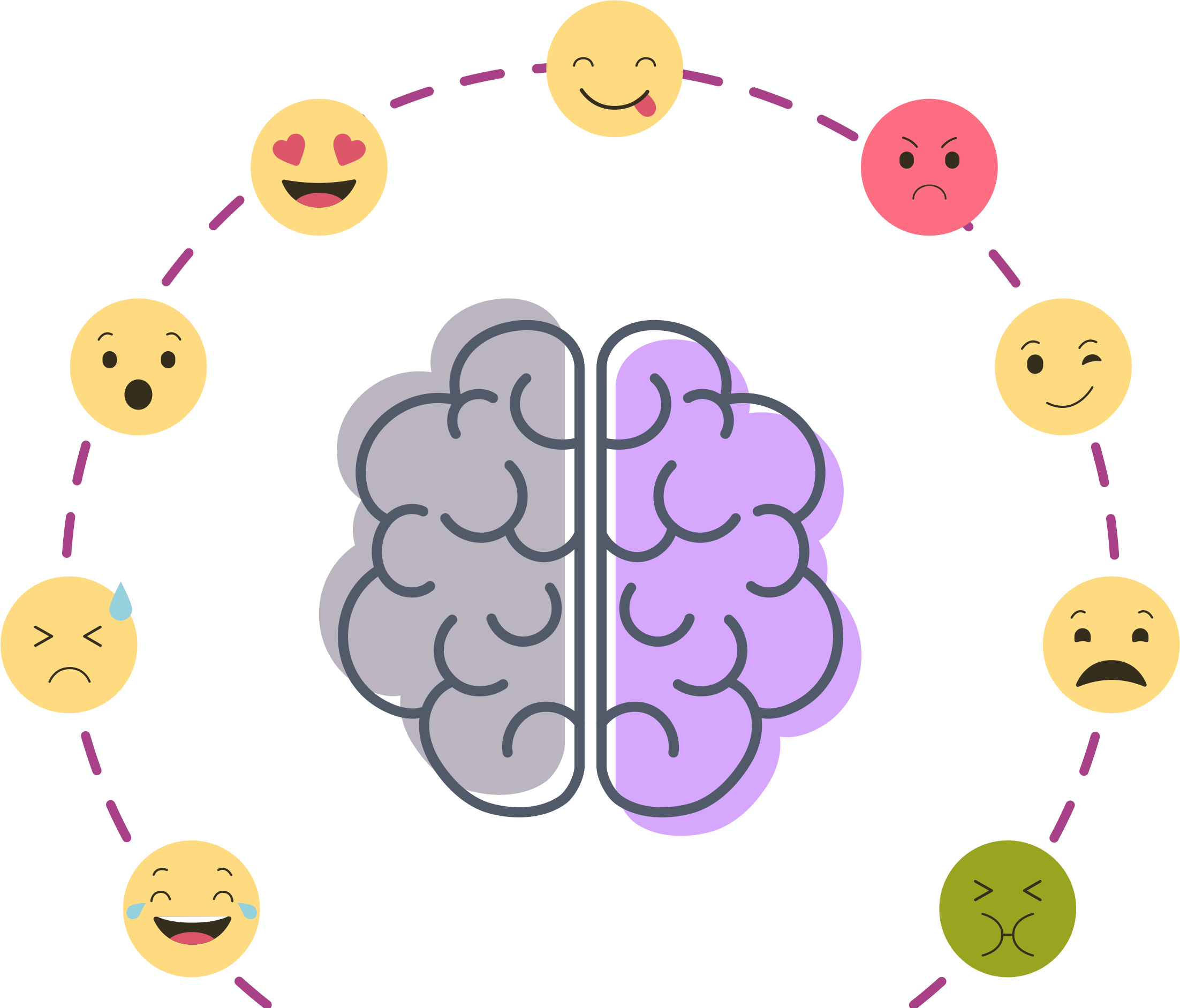 Mood and perception enhance clipart graphic transparent stock The design of emotions and emotional intelligence - UX Collective graphic transparent stock