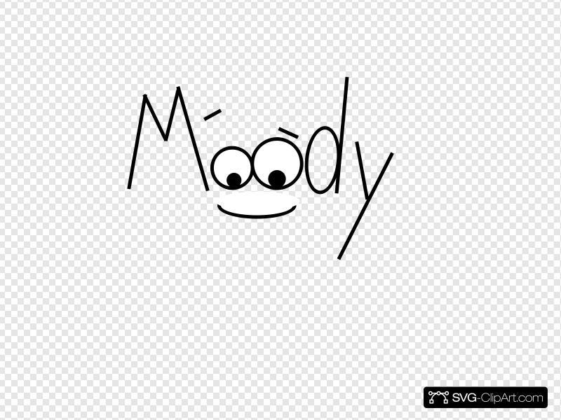 Moody clipart image free stock Moody 5 Clip art, Icon and SVG - SVG Clipart image free stock