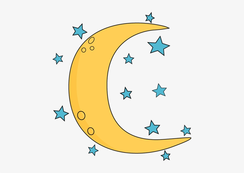 Moon and stars clipart png graphic stock Crescent Moon And Stars Clipart - Free Transparent PNG Download - PNGkey graphic stock