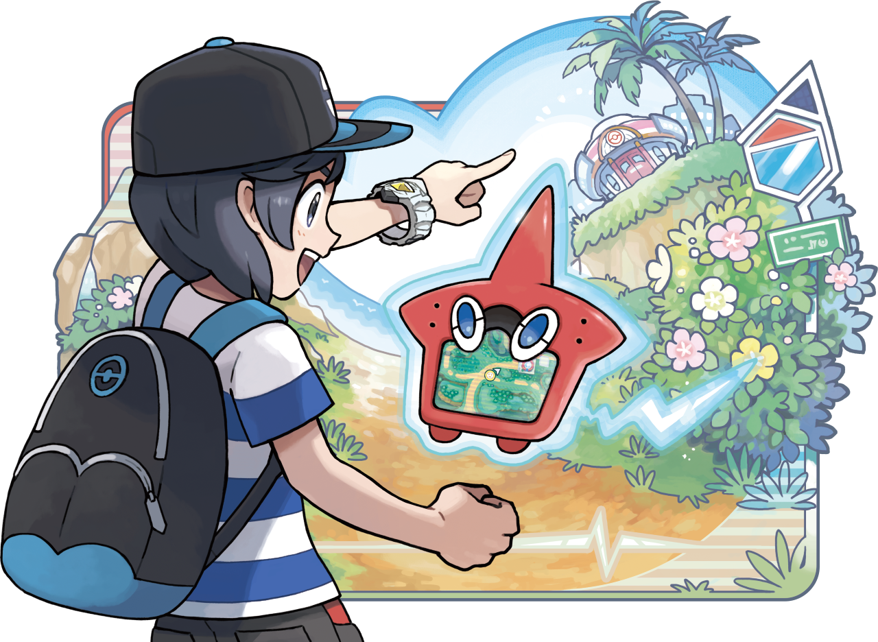 Sun and moon watch face clipart png library stock The Pokedex entries for Sun and Moon are outta control | NeoGAF png library stock