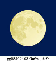 Moon clipart hd svg black and white stock Moon Clip Art - Royalty Free - GoGraph svg black and white stock