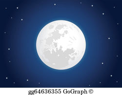 Moon clipart pictures banner black and white library Moon Clip Art - Royalty Free - GoGraph banner black and white library