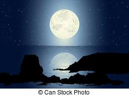 Moon light clipart clipart library download Moonlight Stock Illustrations. 22,418 Moonlight clip art images and ... clipart library download