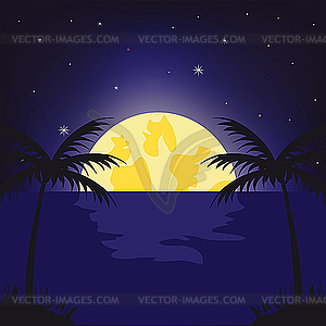 Moon light clipart jpg freeuse library Moonlight Cliparts - Cliparts Zone jpg freeuse library