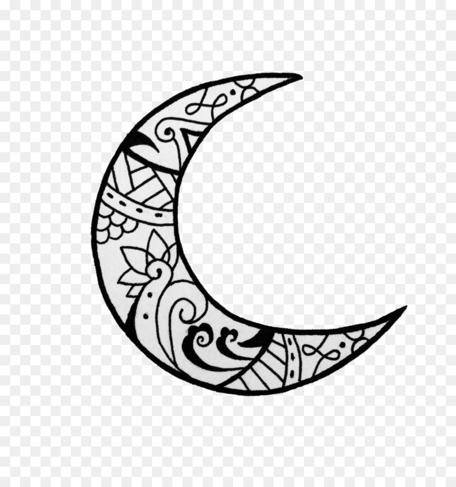 Moon tattoo clipart picture freeuse download Crescent Moon Drawing clipart - Tattoo, Moon, Drawing, transparent ... picture freeuse download