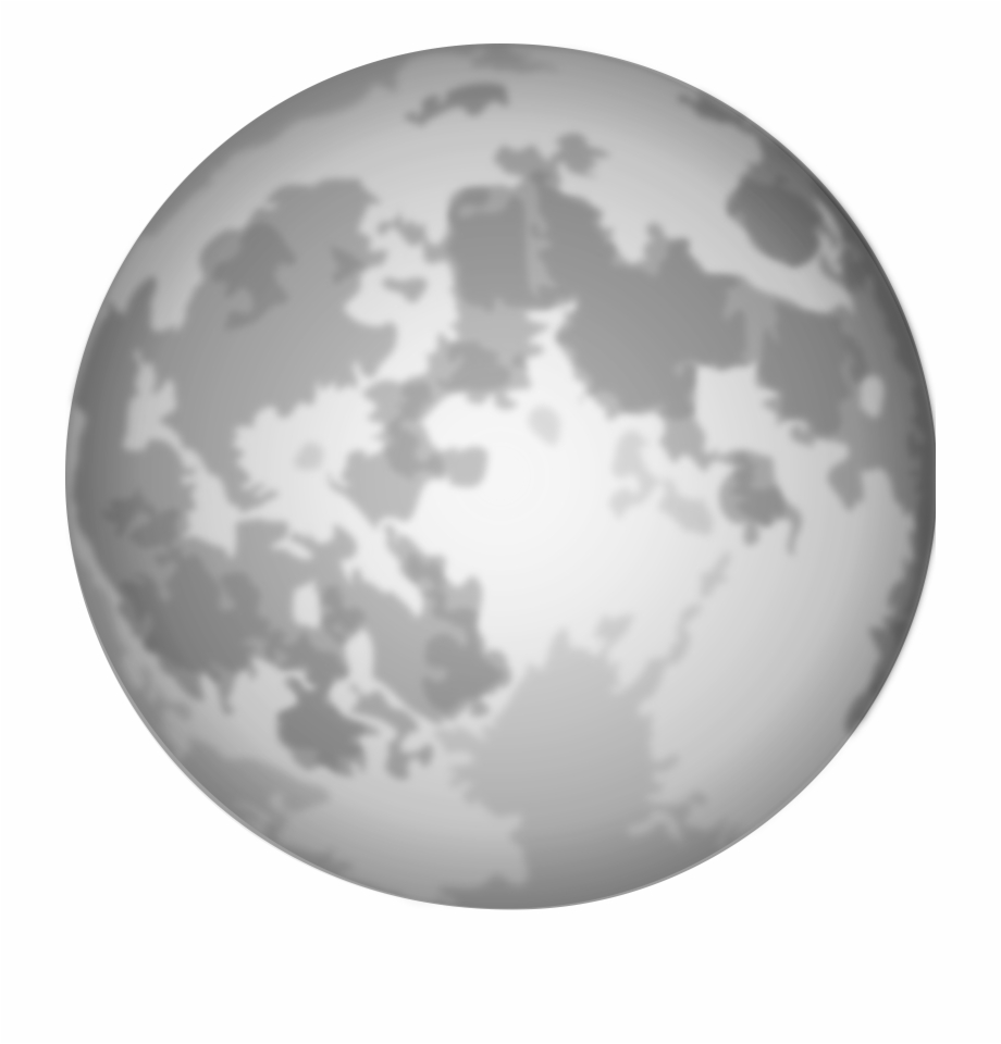 Moon vector clipart picture library stock Moon Clipart Transparent Background - Full Moon Vector, HD Png ... picture library stock