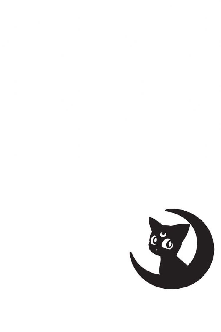 Moon with your butt black & white clipart vector black and white library Sailor Moon-Luna wallpaper made originally for iPhone 6 ... vector black and white library