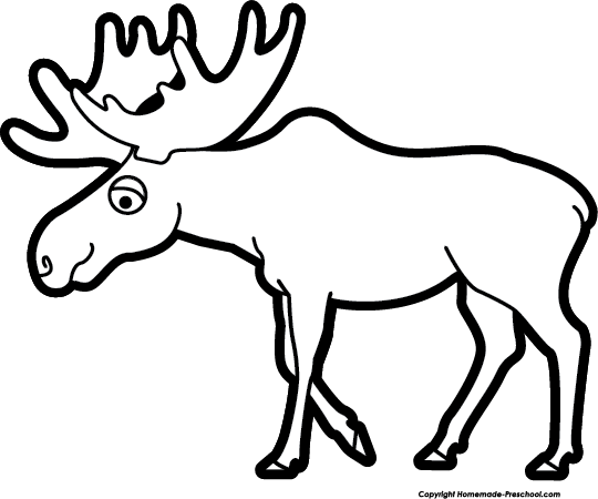 Moose outline clipart clip library library Free Moose Cliparts Black, Download Free Clip Art, Free Clip Art on ... clip library library