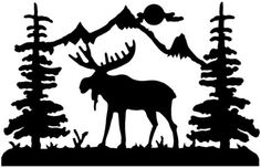 Moose outline clipart transparent library Free Moose Cliparts Black, Download Free Clip Art, Free Clip Art on ... transparent library