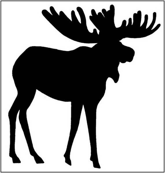 Moose outline clipart black and white Moose clipart outline clipart clipart ideas wallpaper nm3qm1o3ew ... black and white