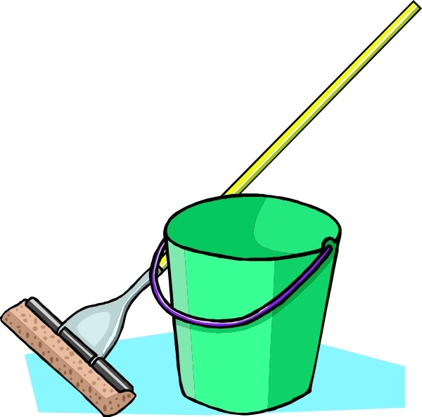 Mop and pail clipart image freeuse stock Mop And Bucket clip art Free vector in Open office drawing svg ... image freeuse stock