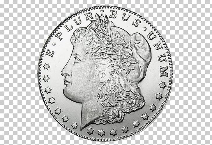 Morgan clipart picture black and white stock Morgan Dollar Dollar Coin Silver Coin PNG, Clipart, American ... picture black and white stock