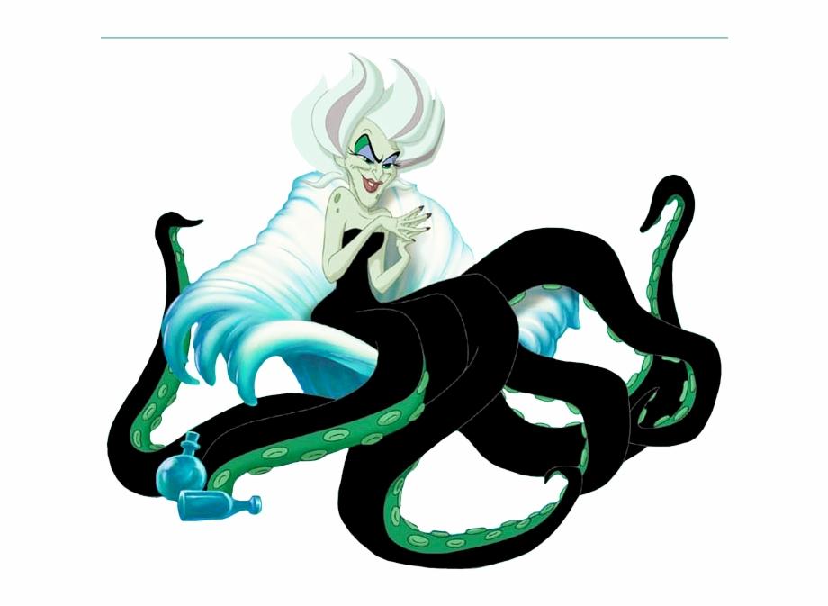 Morgana clipart clip black and white Morgana - Disney Little Mermaid Morgana Free PNG Images & Clipart ... clip black and white