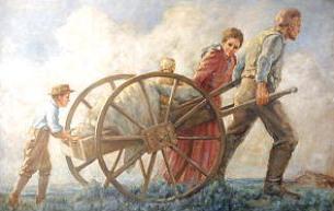Mormon handcart clipart graphic freeuse stock Free Pioneer Handcart Clipart graphic freeuse stock