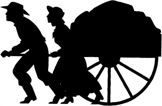 Mormon pioneer clipart picture royalty free stock Free Handcart Cliparts, Download Free Clip Art, Free Clip Art on ... picture royalty free stock