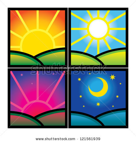 Morning afternoon evening night clipart image black and white download Collection of Good evening clipart   Free download best Good ... image black and white download
