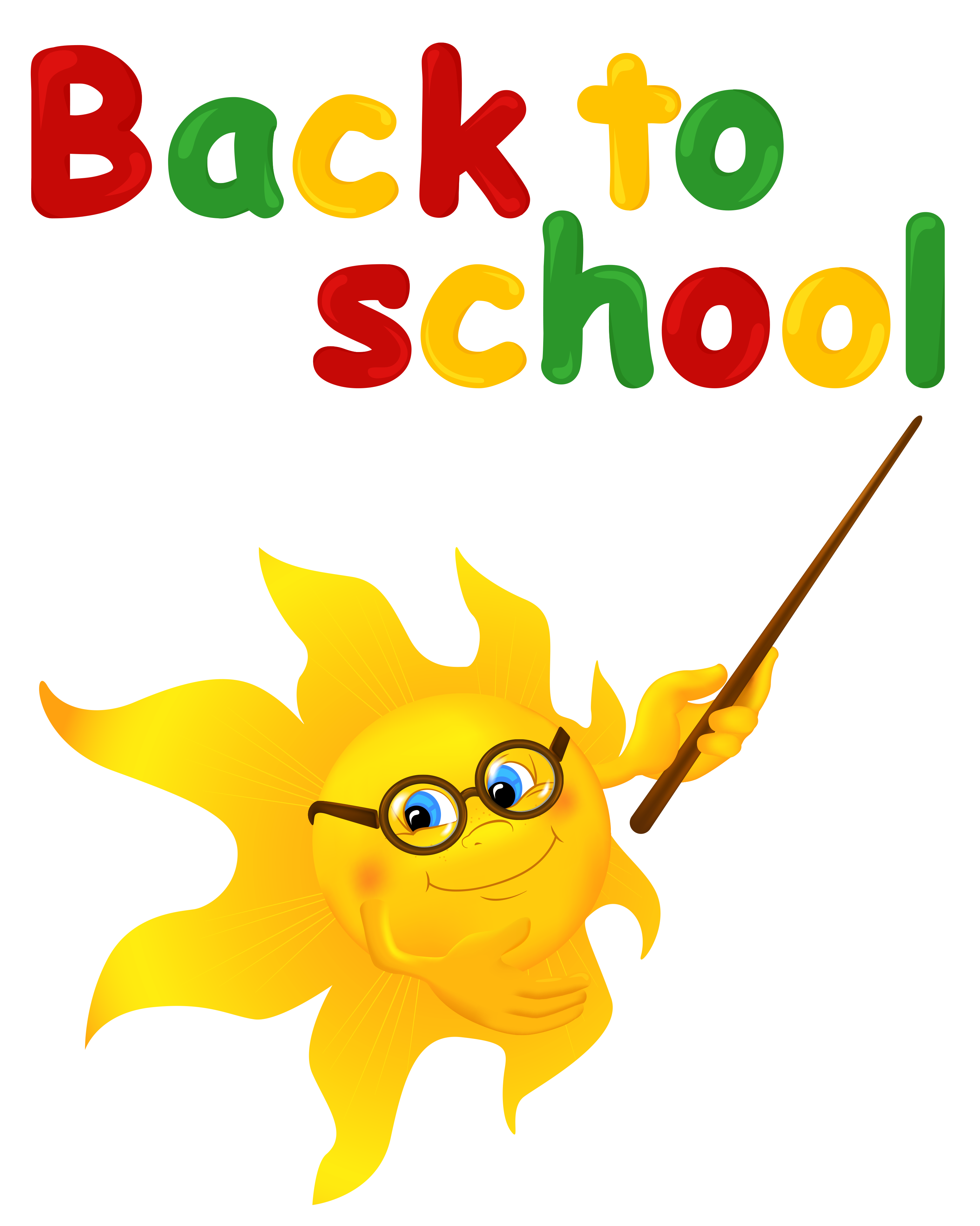 Sun and sea clipart image black and white Back to School with Sun PNG Clipart Image | Gallery Yopriceville ... image black and white