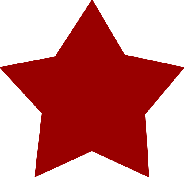 Morning star clipart clipart free library Red Star Clip Art at Clker.com - vector clip art online, royalty ... clipart free library