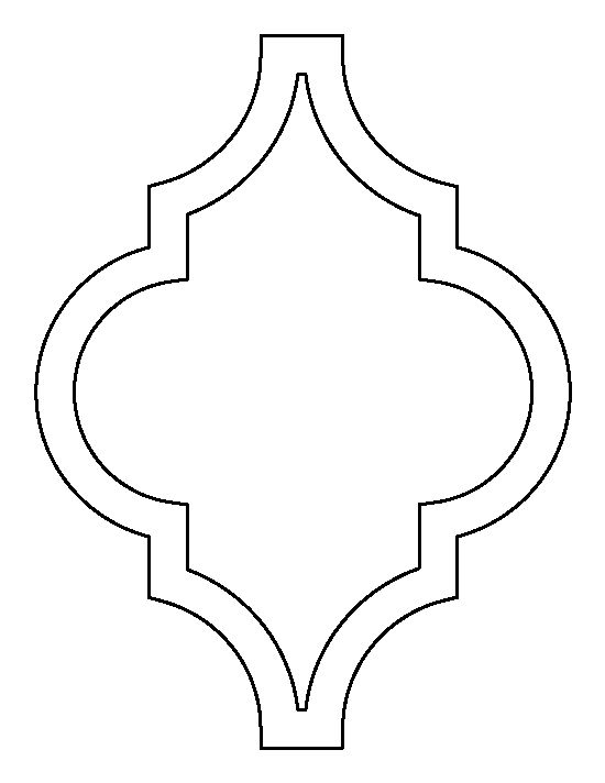 Moroccan patterns clipart graphic black and white stock 17 Best ideas about Moroccan Stencil on Pinterest   Stencil ... graphic black and white stock