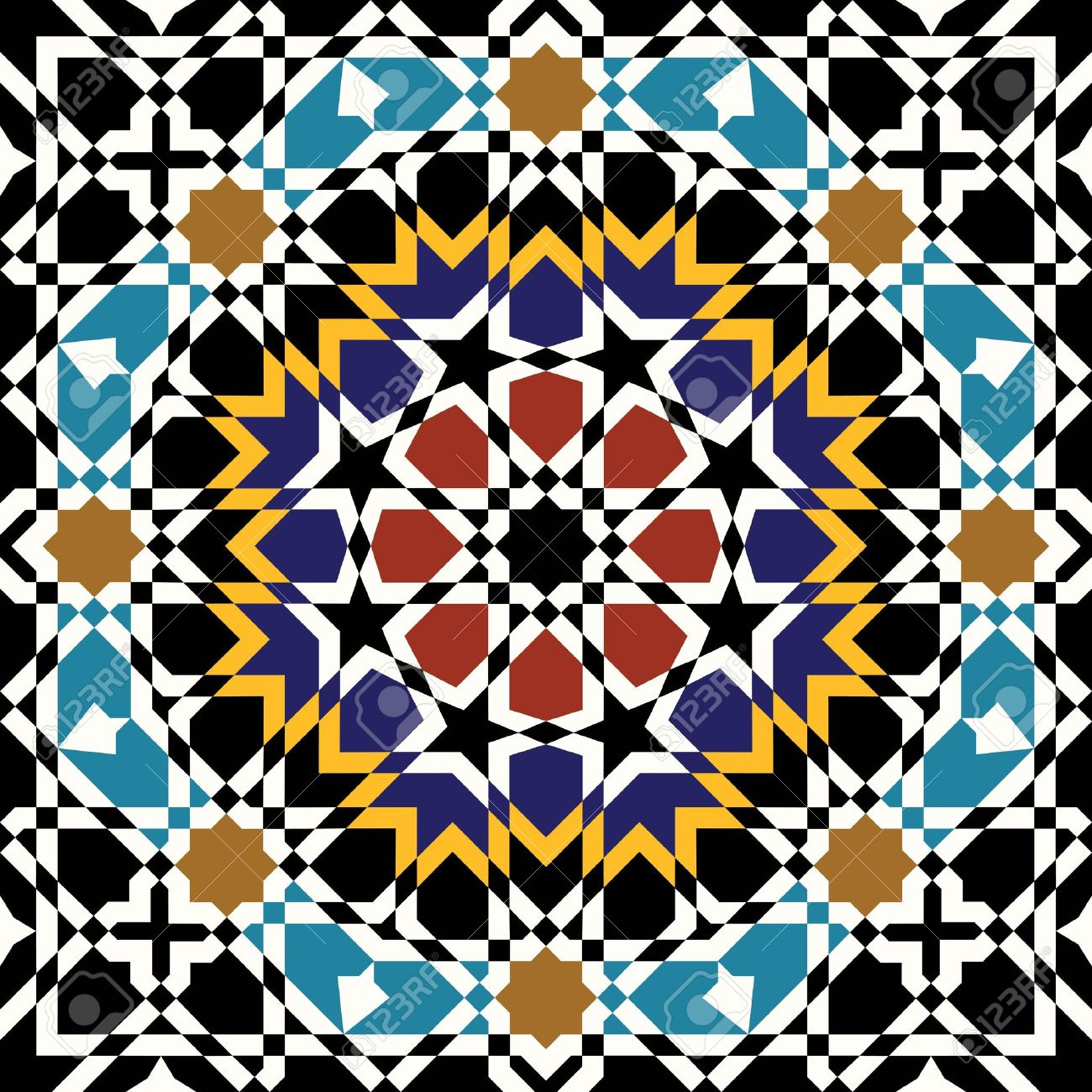 Moroccan patterns clipart image transparent download Moroccan patterns clipart - ClipartFest image transparent download
