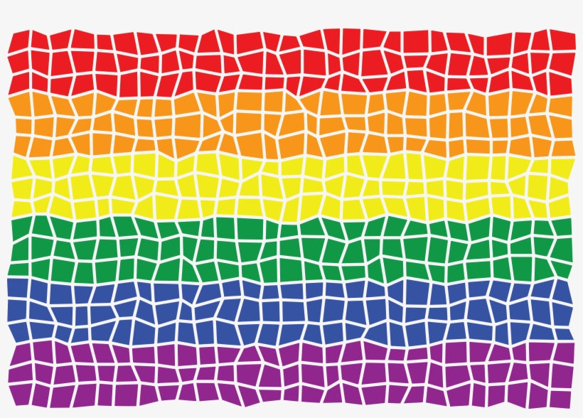 Mosaics clipart graphic transparent Free Clipart Of A Mosaic Rainbow Flag - Mosaics Clipart ... graphic transparent