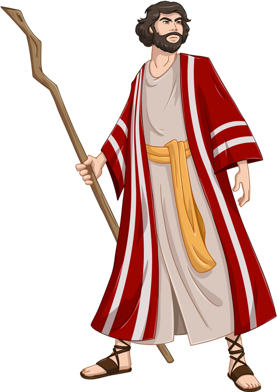 Moshe clipart image royalty free Passover Clipart Moshe - Moses And Pharaoh Cartoon - Png ... image royalty free