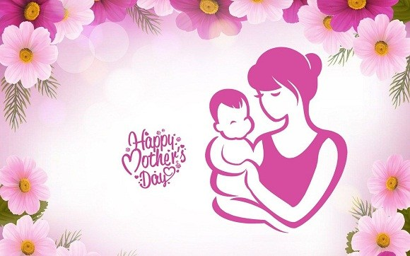 Mostly happy clipart vector transparent library Happy Mothers Day Wallpaper 2020, Happy Mothers Day Images ... vector transparent library