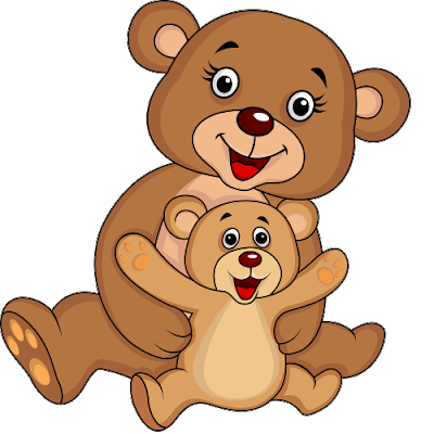 Mother and baby animals cartoon clipart for kids picture black and white download Baby animals cartoons clipart images gallery for free ... picture black and white download