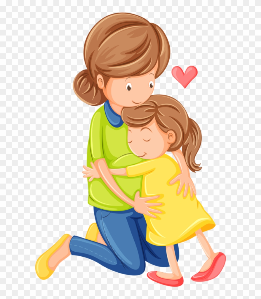 Mother and child clipart svg free library Craft Clipart Kid Clip Art - Mom And Child Clipart - Png ... svg free library