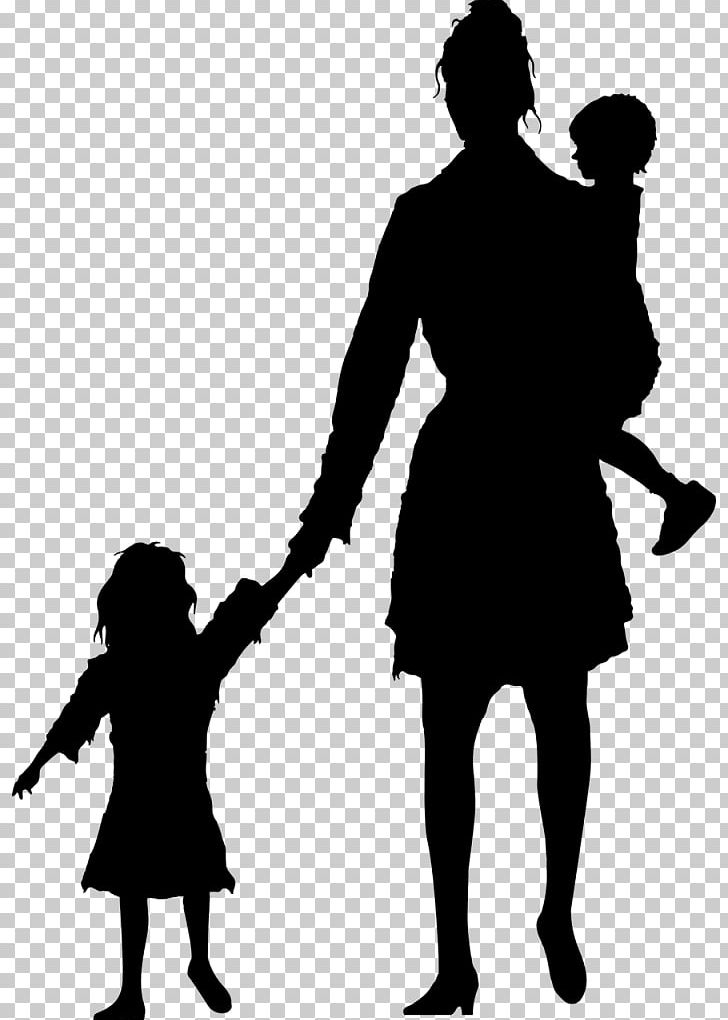 Silhouette Mother Child PNG, Clipart, Animals, Black And ... clip art royalty free download