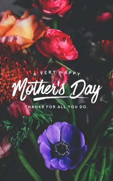 Mother day clipart for church bulletin png free stock Mothers Day Bulletin Covers png free stock