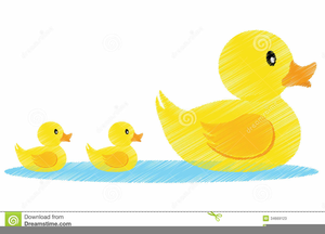 Mother duck clipart jpg library Mother Duck And Ducklings Clipart | Free Images at Clker.com ... jpg library