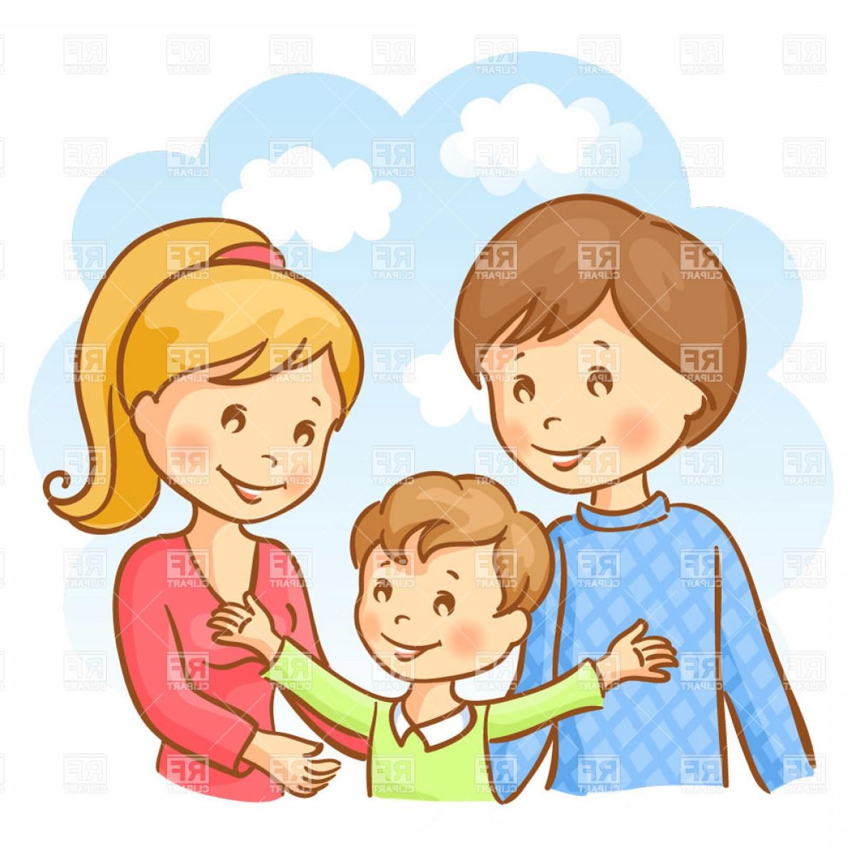 Mother father son clipart clipart stock Son Vector | SOIDERGI clipart stock