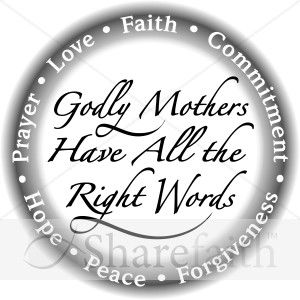 Mother s day christian black and white clipart clip art transparent Godly Mothers in Black and White | ~ Inspirations ... clip art transparent