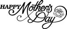 Mother s day christian black and white clipart jpg black and white stock 256 Best mother\'s day images in 2016 | Amazing art, Bird ... jpg black and white stock