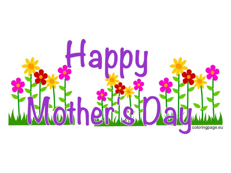 Mother s day clipart vector black and white download Mothers Day Clipart Images - ClipArt Best vector black and white download
