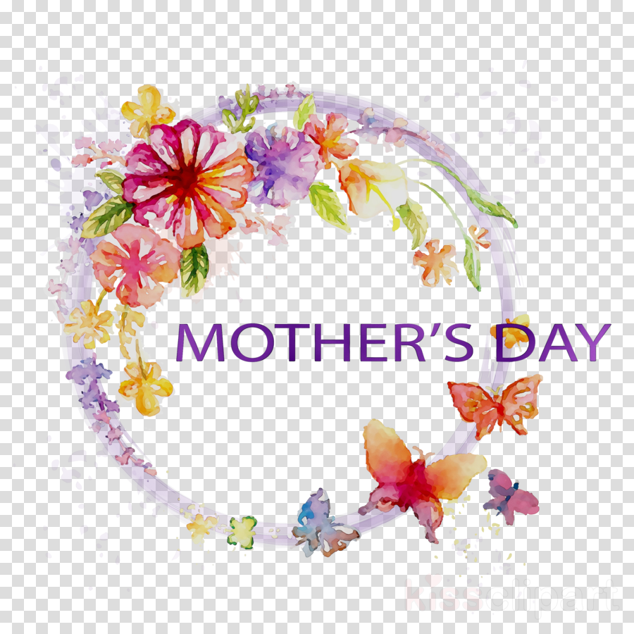 Mother s day clipart transparent banner library Flower Cartoon Mothers Day clipart - Mother, Gift, Text ... banner library