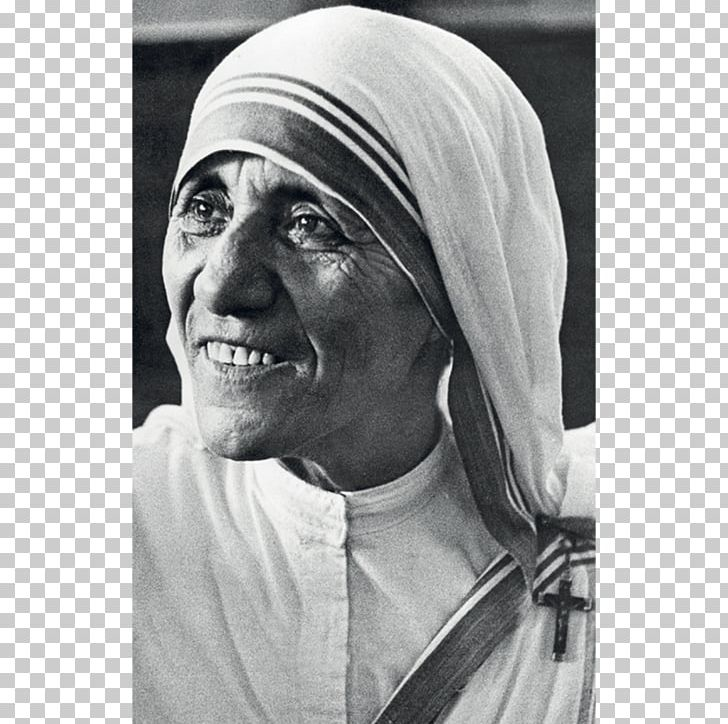 Mother theresa hat clipart black and white jpg royalty free library Mother Teresa Kolkata Prayer Magnificat Canonization PNG ... jpg royalty free library