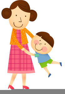 Mother with children clipart clipart transparent library Free Clipart Mother Child | Free Images at Clker.com ... clipart transparent library