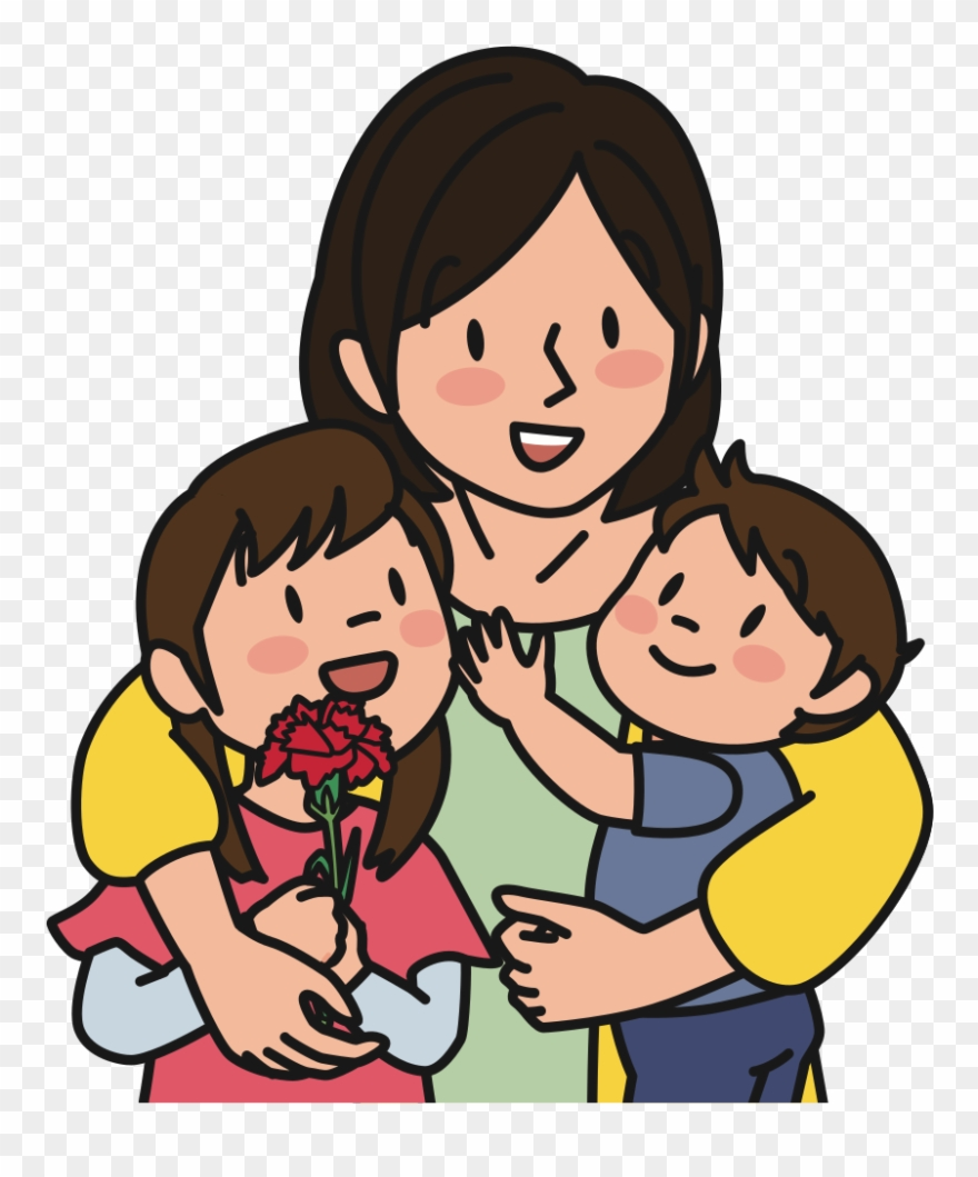 Mother with children clipart image free library Child Mother Computer Icons Infant Family - Mother With ... image free library