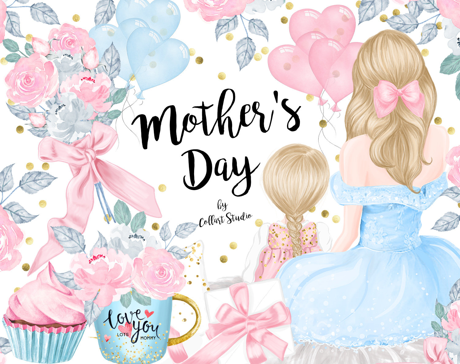 Mothers day clipart 2019 svg library download Happy Mothers Day Clipart – Free Printable Calendar & Holidays svg library download