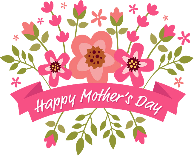Mother's day flower clipart banner free Happy Mothers Day Png Transparent banner free
